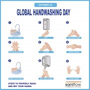 15th of October: Global Handwashing Day
